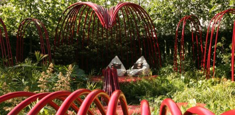 Ann-Marie Powell's British Heart Foundation Garden