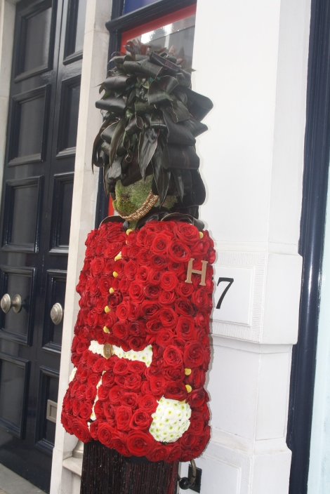 Hackett's Chelsea In Bloom entry 2012